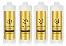Keratin 4 Hair Silky Soft Safe Straight Smoothing Treatment 32 oz 4 piece Kit