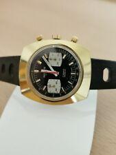 Orologio Cronografo Vintage RENIS 40mm revisionato ETA 7733 no tag heuer