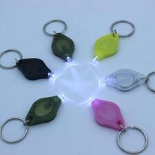 Flashlight Keychain Mini LED White Light Torch Keyring Key Chain New