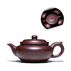 one pot 4 matching cup true yixing zisha tea pot master handmade carved pot tea