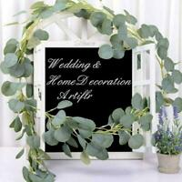 Artificial Eucalyptus Garland Hanging Rattan Vine Ivy new Wedding best H5U5