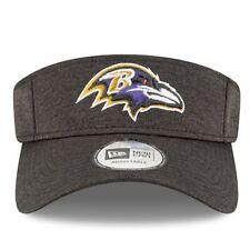 5e00f43122d Baltimore Ravens Era Black 2018 NFL Sideline Home Official Visor