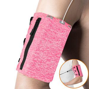 Sport Armband Phone Holder Jogging Running Gym Workt Out Breathable Arm Band Bag