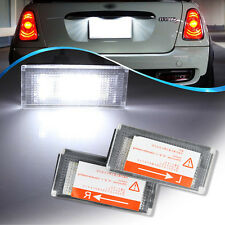 LED License Plate Light Lamp 18 SMD for BMW Mini Cooper R50 R52 R53 CANBUS -2PCS