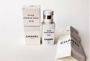 CHANEL No 19 Huile Pour Le Bain / Bath Oil (50 ml) Vintage