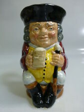 "Royal Doulton ""Jolly Toby"" Medium Toby Jug # D6109"