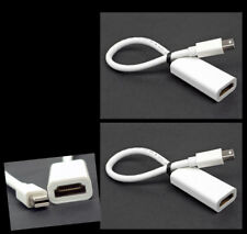 2X MINI DISPLAYPORT/THUNDERBOLT TO HDMI ADAPTERS APPLE MACBOOK AIR PRO MAC IMAC