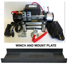 Electric Winch 13500 LB Recovery Truck 12v 4x4 With Mount Plate Winch-it