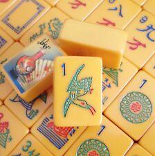 Vtg Coronet Mahjong Set, 154 Tiles, Four Catalin Racks Mah Jongg Bakelite