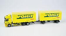 AWM 1:87 Lastzug MB Actros 2550 Voigt Logistik DHL