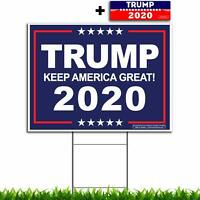 President Donald Trump - Keep America Great! 2020 - Political Campaign Yard Sign