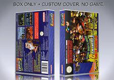 DONKEY KONG COUNTRY 2. PAL VERSION. Box/Case. Super Nintendo. (NO GAME).