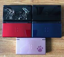 Nintendo DS Lite Blue, Black, Pink, Pokemon, Red REFURBISHED Grade A Boxed