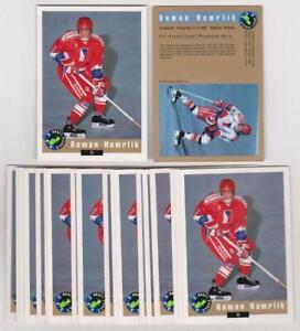 Lot of 264 1992 Classic Draft Picks Roman Hamrlik Rookie Promo Cards
