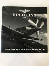 Breitling Watch Catalog Chronolog 2004  English Brochure Book