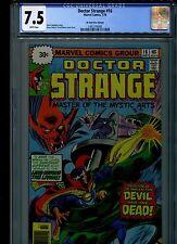Dr Doctor Strange #16 CGC 7.5 (1976) 30 Cent Price Variant White Pages Rare HTF