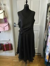 B.YOUNG Black Occasional Dress Party/Cocktail/Evening Wear Long Length Size XL
