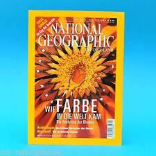 National Geographic Juli 2002 Atommüll Somalia Wari und Tiwanaku U-Boot Hunley