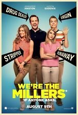 We're The Millers movie poster  11 x 17 inches Jennifer Aniston , Jason Sudeikis