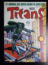 Titans N°37 TBE Lug Comics Semic Marvel