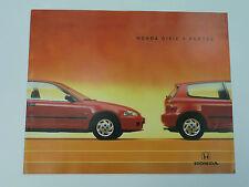 CATALOGUE HONDA CIVIC 3 PORTES Année 1994