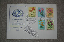 "1971 SAN MARINO ""FLOWER"" STAMP FIRST DAY COVER, GOOD CONDITION"