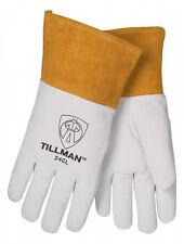 "Tillman 24C Medium TIG Welding Gloves Top Grain Kidskin Leather w/ 4"" Cuff"