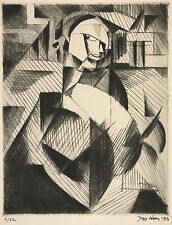 Jacques Villon Reproduction: Portrait of an Actor - Fine Art Print