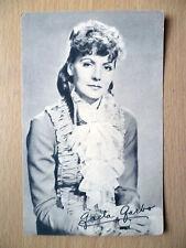 Real Photo Postcard- GRETA GARBO +printed Autograph, Metro Goldwyn Studios