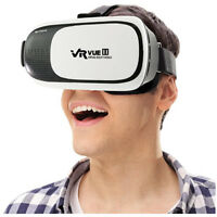 Xtreme VR Vue II Virtual Reality 3D Glasses Viewer View Movies 360 Smartphones