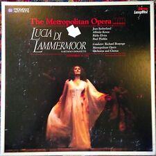 Lucia Di Lammermoor Metropolitian Opera Boxset Laserdisc Buy 6 for free shipping