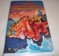 The Land Before Time V: The Mysterious Island (VHS, 1997, Clamshell)