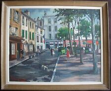 Robert LESGUES (XIX-XX) French Modern School Large Oil Painting