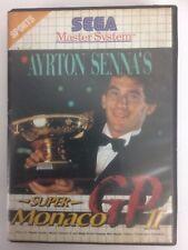 Ayrton Senna's Super Monaco GP 2 Sega Master System