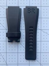 Bell & Ross BR-X1 BR01 - BR03 Black Vulcanized rubber Band strap