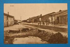 Meuse 55 Lorrain CP CPA Woel 1917 Rue Maisons Fermes militaires guerre 1.WK WWI