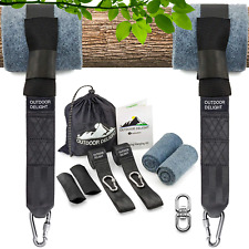 Outdoor Delight Tree Swing Straps Hanging Kit Extra Long 10ft with Tree & Set of