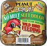 3 Pack C&S PEANUT DELIGHT No-Melt Suet Dough for WILD BIRDS 11.75 Ounce