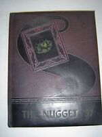 1957 The NUGGET - Weatherly H S Yearbook - Weatherly, Pa
