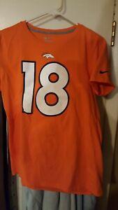 Nike Player Pride Name&Number Broncos Peyton Manning Women's T-Shirt- XL 607249