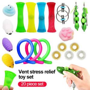 20X Set Fidget Sensory Toys Autism ADHD SEN Stress Relief Special Need Education