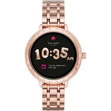 Kate Spade SKT2005 Scallop Touchscreen Smartwatch Rose Gold 42MM NEW SEALED