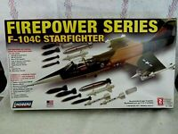 2006 LINDBERG F-104C STARFIGHTER FIREPOWER SERIES 1:48 Scale