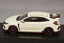 1 43 EBBRO MMP Honda Civic Type R FK8 Prototype Championship White 2017 #.45572