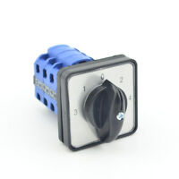 600V 20A 5 Position 3-1-0-2-4 12 Terminals Rotary Cam Combination Switch