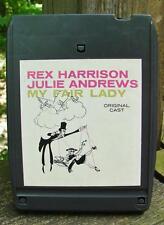 My Fair Lady Original Cast Recording 8 Track Tape Rex Harrison Julie Andrews
