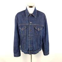 Levi's Jeansjacke 70550 04 Herren XL Blau Indigo Wash Denim Trucker Jacke