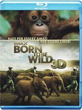 Born To Be Wild 3D - IMAX (Blu-Ray 3D/2D) Nuovo