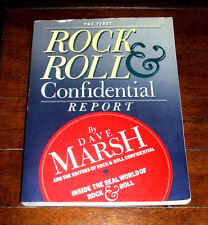 BOOK: Dave Marsh - The First Rock & Roll Confidential Report / 1st Ed Payola MTV