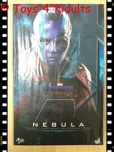 🔥 Hot Toys MMS 534 Avengers Endgame Nebula Karen Gillan 1/6 Action Figure NEW